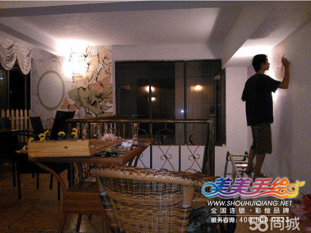 柳州手绘墙 美美手绘工作室