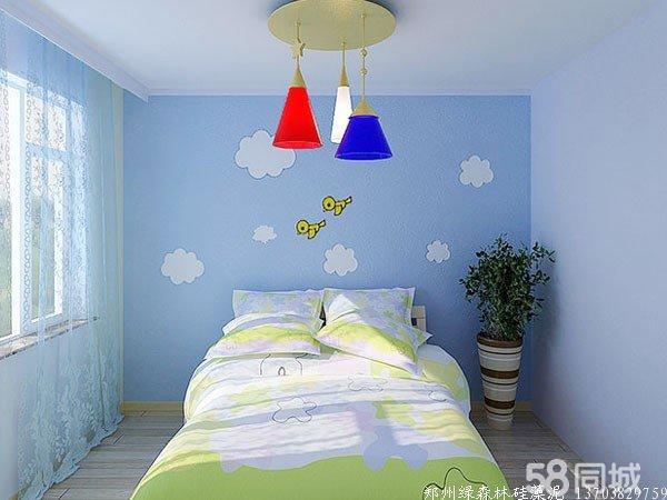 硅藻泥儿童房装修效果图
