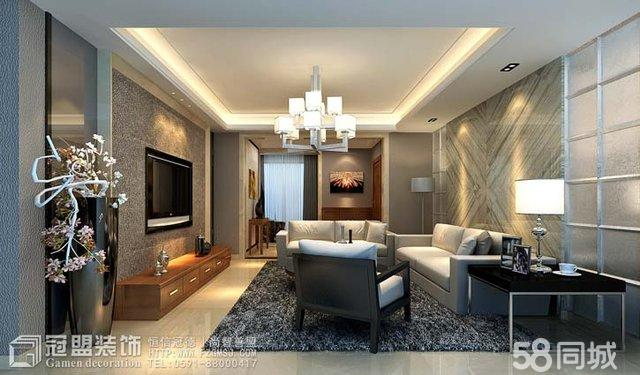 冠盟装饰设计家装客厅餐厅卧室玄关效果图