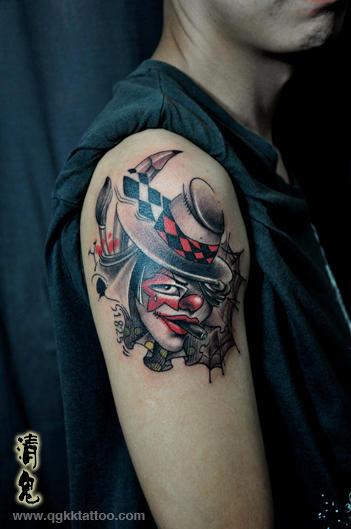 成都纹身 清鬼刺青_纹身图案