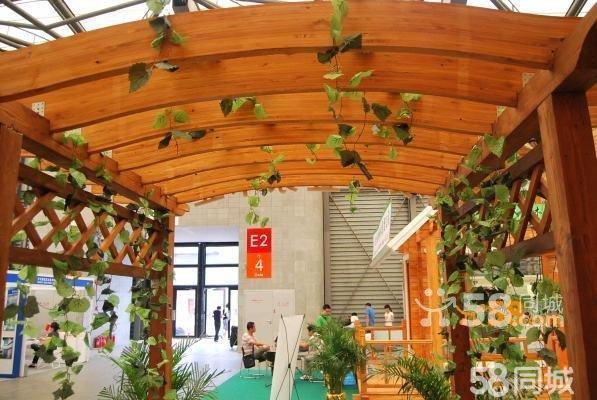 中式花架回廊图片