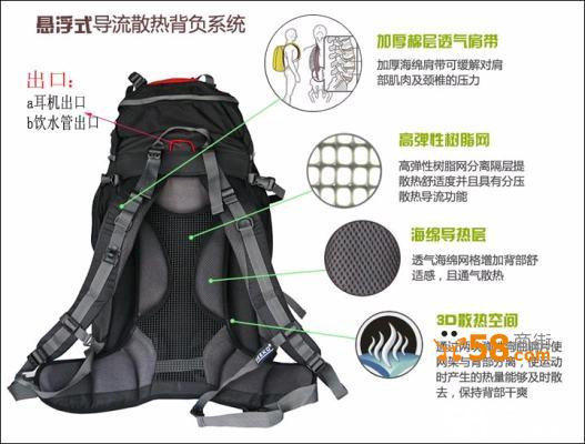 包超大容量 防水登山包