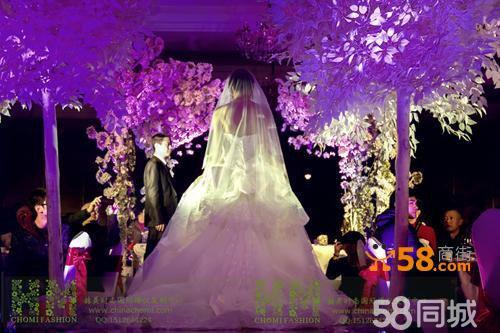 暗场灯光婚礼设计—58商家店铺