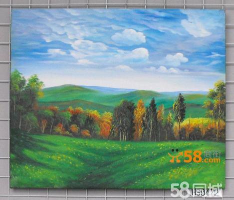 达派恩手工油画风景