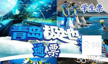 【仅0.1元1张】极地海洋馆+欢乐剧场馆门票!