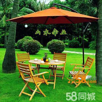 订做深圳中心公园休闲遮阳伞广告太阳伞香蕉伞庭院伞