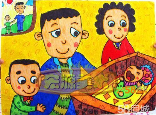 朝阳北苑快乐美术儿童班图片