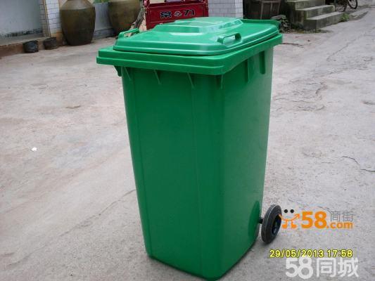 塑料环卫垃圾桶的使用遍布城市的