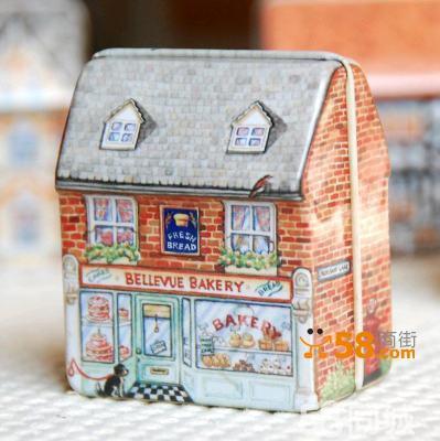 欧式结婚喜糖盒小房子造型个性婚庆糖果盒