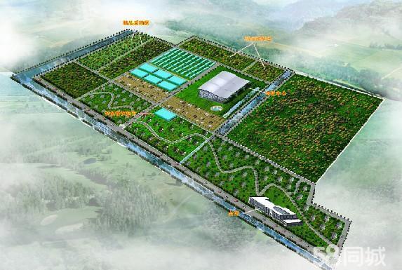 农庄果园设计平面图